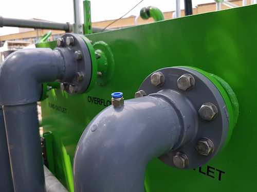 Advetec Bio-Reactor for wastewater treatment outlet pipes