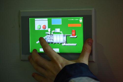 Advetec XO system control panel
