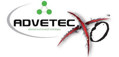 Advetec XO organic waste system logo