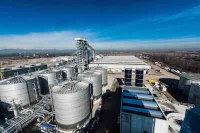 Biofuel production plant