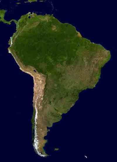 News South America aerial