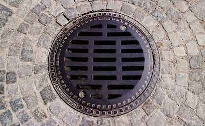 Purified wastewater can drain to sewer