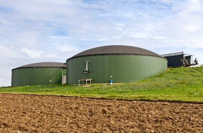 Agricultural biogas plant