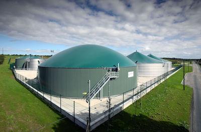 Wet-AD biogas plant